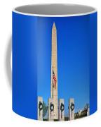 World War II Memorial And Washington Monument Coffee Mug