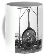 World's Largest Frying Pan Coffee Mug