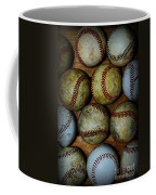 Worn Out Baseballs Coffee Mug