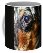 Worried Wiener Coffee Mug