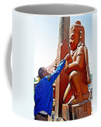 Worshipper At Festival Of Ram Nawami In Kathmandu-nepal    Coffee Mug