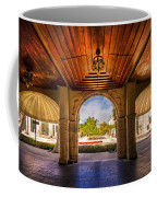 Worth Avenue Courtyard Coffee Mug by Debra and Dave Vanderlaan
