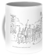 Wow! Mcnutt Must Of Sounded Another Warning Coffee Mug