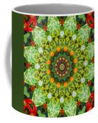 Wreath Kaleidoscope Coffee Mug