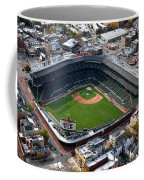 Wrigley Field Chicago Sports 02 Coffee Mug by Thomas Woolworth