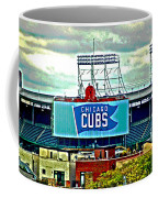 Wrigley Field Chicago Cubs Coffee Mug