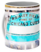 Wrigley Field Sign - X-ray Coffee Mug