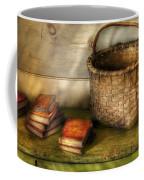 Writer - A Basket And Some Books Coffee Mug