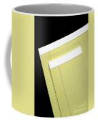 Writing Tablet Coffee Mug