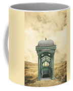 Wrong Train Right Station Coffee Mug by Edward Fielding