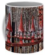 Wrought Iron Fence Spears Coffee Mug