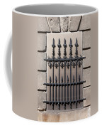 Wrought Iron Window Grille Coffee Mug