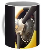 Ww II Airplane Engine Coffee Mug