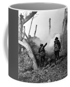 Wwi American Soldiers  Coffee Mug by Photo Researchers