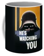 Wwii: Propaganda Poster Coffee Mug