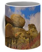 Wyoming Badlands Rock Detail Two Coffee Mug