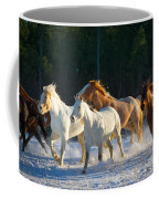 Wyoming Horses Coffee Mug