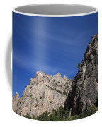 Wyoming Mountain Peaks Coffee Mug