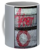 X Marks The Spot Coffee Mug