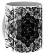 X-ray Of A Snowflake Coffee Mug