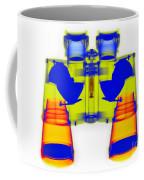 X-ray Of Binoculars Coffee Mug