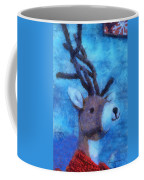 Xmas Reindeer 01 Photo Art Coffee Mug
