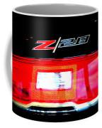 Xxl Chevrolet 2014 Z28 Tail Light Coffee Mug