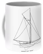 Yacht: Kelpie, 1882 Coffee Mug by Granger