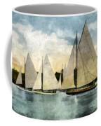 Yachting In Saugatuck Coffee Mug