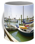 Yachts In A Port 1 Coffee Mug