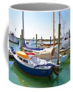 Yachts In A Port 4 Coffee Mug