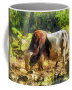 Yak Having A Snack Coffee Mug