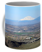 Yakima Valley Outlook With Mount Adams Coffee Mug