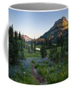 Yakima Peak At Sunrise Coffee Mug