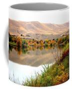 Yakima River Autumn Coffee Mug by Carol Groenen