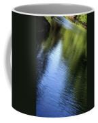 Yamhill River Abstract 24849 Coffee Mug