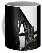 Yaquina Bay Bridge - Series D Coffee Mug