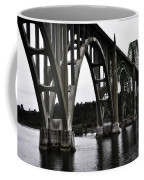 Yaquina Bay Bridge - Series J Coffee Mug