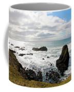 Yaquina Bay Coastline Coffee Mug