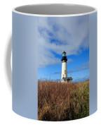 Yaquina Bay Lighthouse In Oregon Coffee Mug