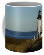 Yaquina Head Lighthouse 4 D Coffee Mug
