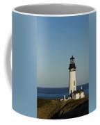 Yaquina Head Lighthouse 4 E Coffee Mug