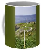 Yaquina Lighthouse From Salal Hill Trail  Coffee Mug