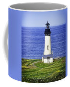 Yaquina Lighthouse From The Big Hill Coffee Mug