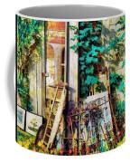 Yard Sale Antiques - Horizontal Coffee Mug