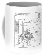 Yard Sale At The Romney's Features Karl Rove Coffee Mug by Jack Ziegler