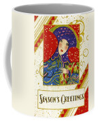 Year 1928 Vintage Greeting Card Coffee Mug