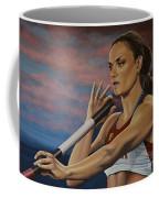 Yelena Isinbayeva   Coffee Mug by Paul Meijering