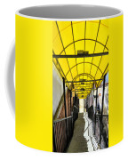 Yellow Abstract Coffee Mug