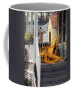 Yellow Adirondack Rocking Chairs Coffee Mug